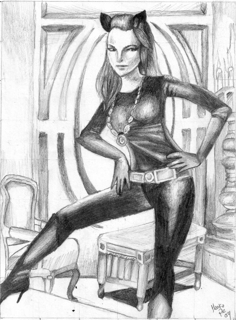 Julie Newmar - Cat Woman by