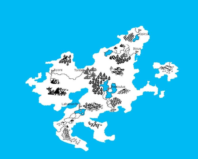 Random map by KairaFrostfang
