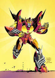 Rodimus 113 (Coloured) by TXS-1089