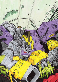 Requiem of the Wreckers tribute. Coloured