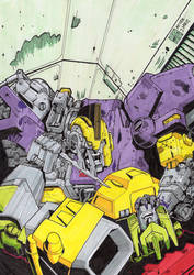 Requiem of the Wreckers tribute. Coloured by TXS-1089