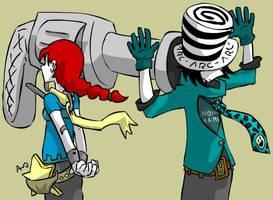 lol redheads kill me by Kite-ridE