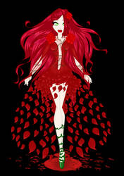 Blood Red Rose's Thorn by VilaSvemira
