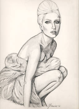 Gaga-in-furs