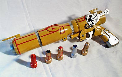 Outlaw Star Caster Gun by aBlindSquirrel