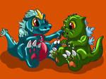 Godzilla and Spacegodzilla