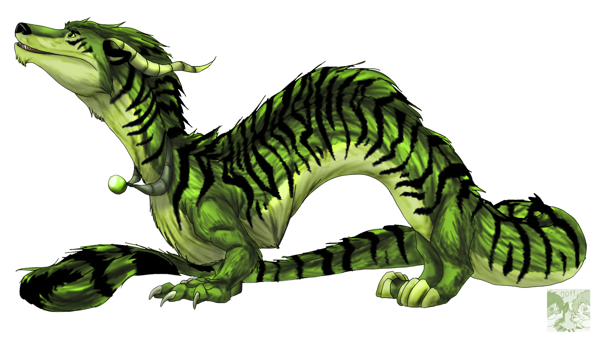 Tiger Dragon by Natsuakai on DeviantArt