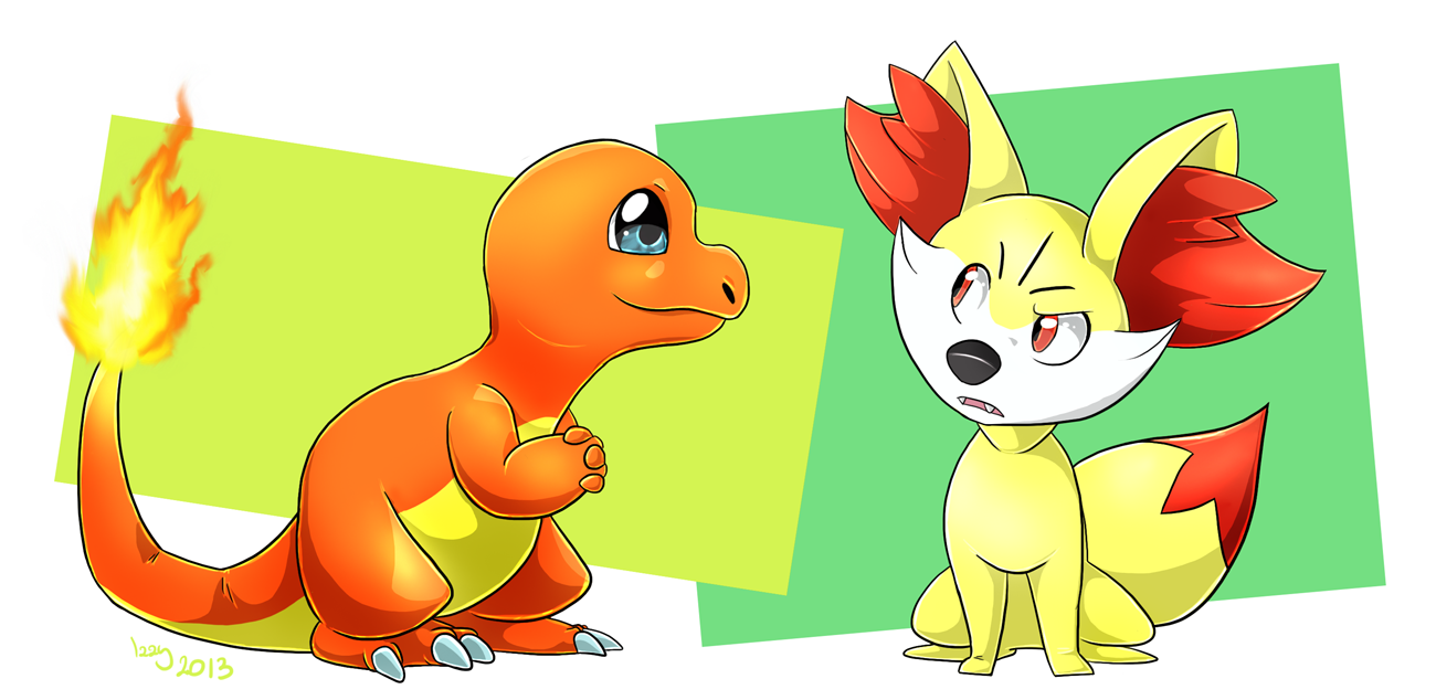 [Obrazek: charmander_and_fennekin_by_izzyreddragon-d5r1vl7.png]