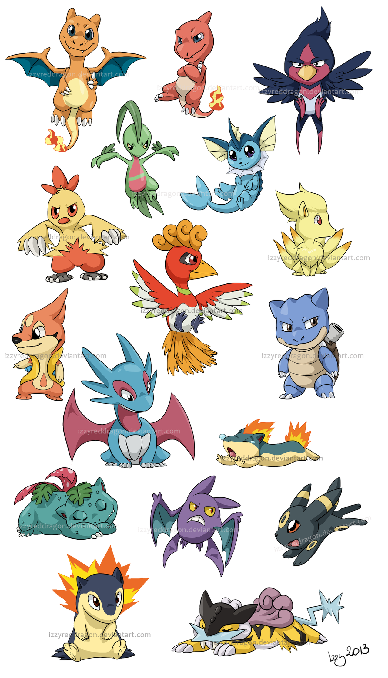 Chibi Pokemon Stuff By Natsuakai On Deviantart