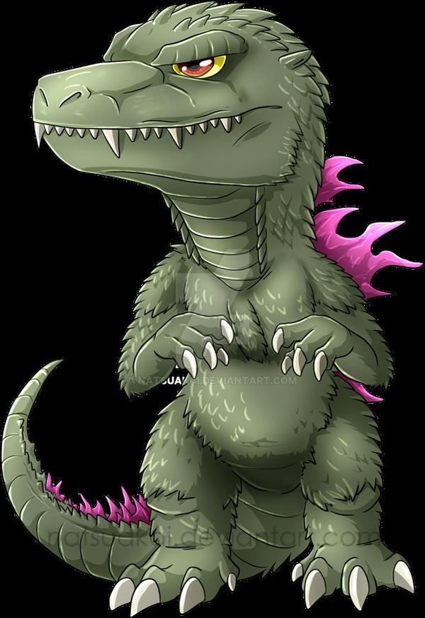 Chibi Godzilla 2000 by Natsuakai