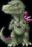 Chibi Godzilla 2000