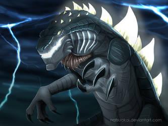 Zilla attack by Natsuakai