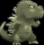 Chibi Godzilla 2