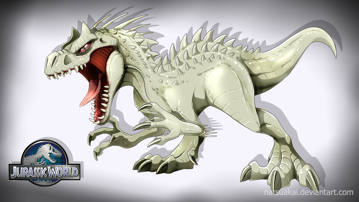 Indominus Rex By Natsuakai On Deviantart