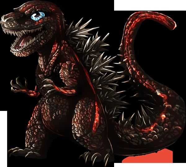 Chibi Shin Godzilla By Natsuakai On DeviantArt