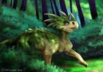 Dinovember Day 3: Styracosaurus