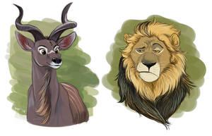 Animal doodles #1