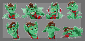 Comm: Chief Scarneck Stickers