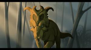 Dinovember #2: Pachyrhinosaurus