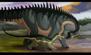 Dinovember #3: Nigersaurus