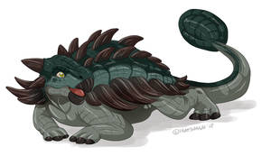 Dinovember #5: Ankylosaurus