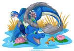 Comm: Chibi Blue