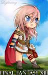 Chibi Lightning--FF13--
