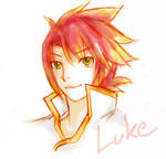 Luke Fon Fabre by hatoribaka