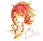 Luke Fon Fabre by hatoribaka