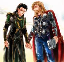 The Avengers - come back home by hatoribaka