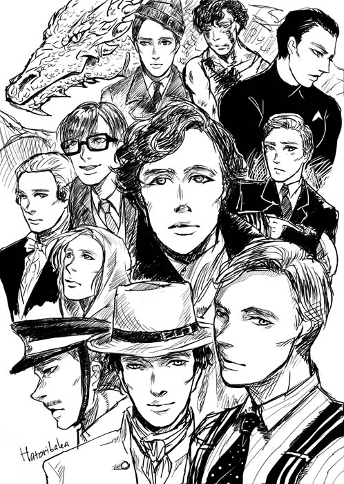 Benedict Cumberbatch by gundam-kun