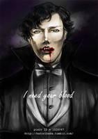 I need your blood by hatoribaka