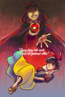 every fairy tale needs a good villain by hatoribaka