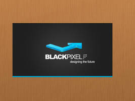 Blackpixel business card by blackp