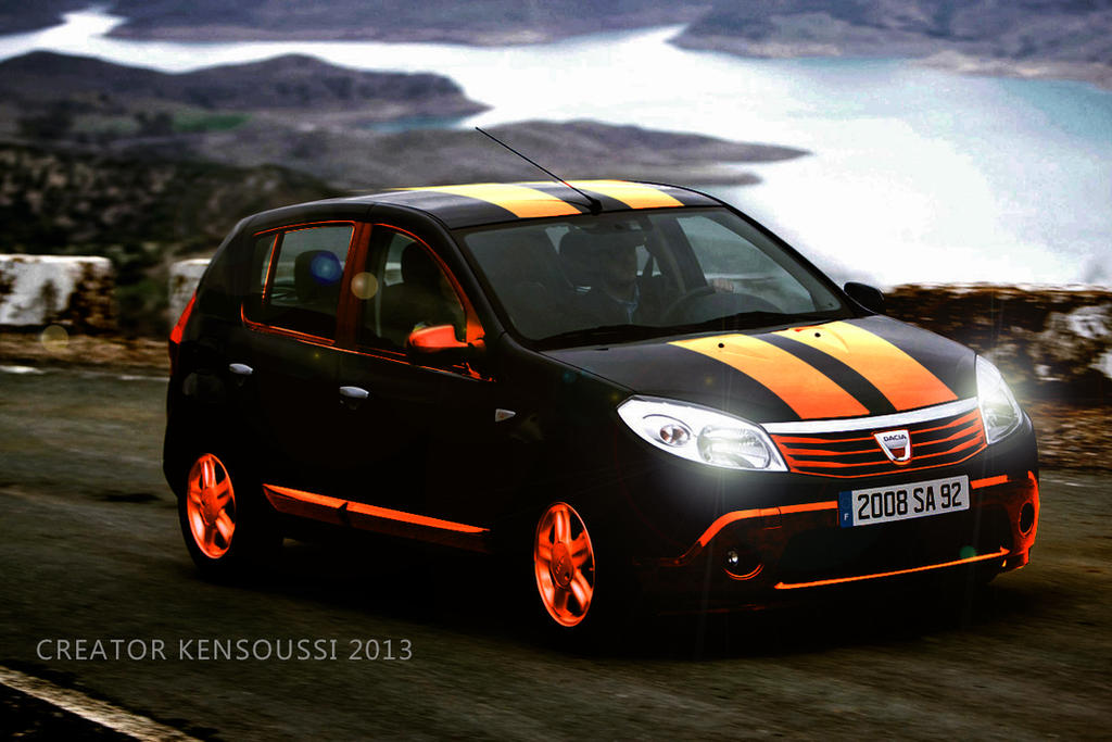 Dacia Sandero 2009 001 By Ayakrapper On Deviantart