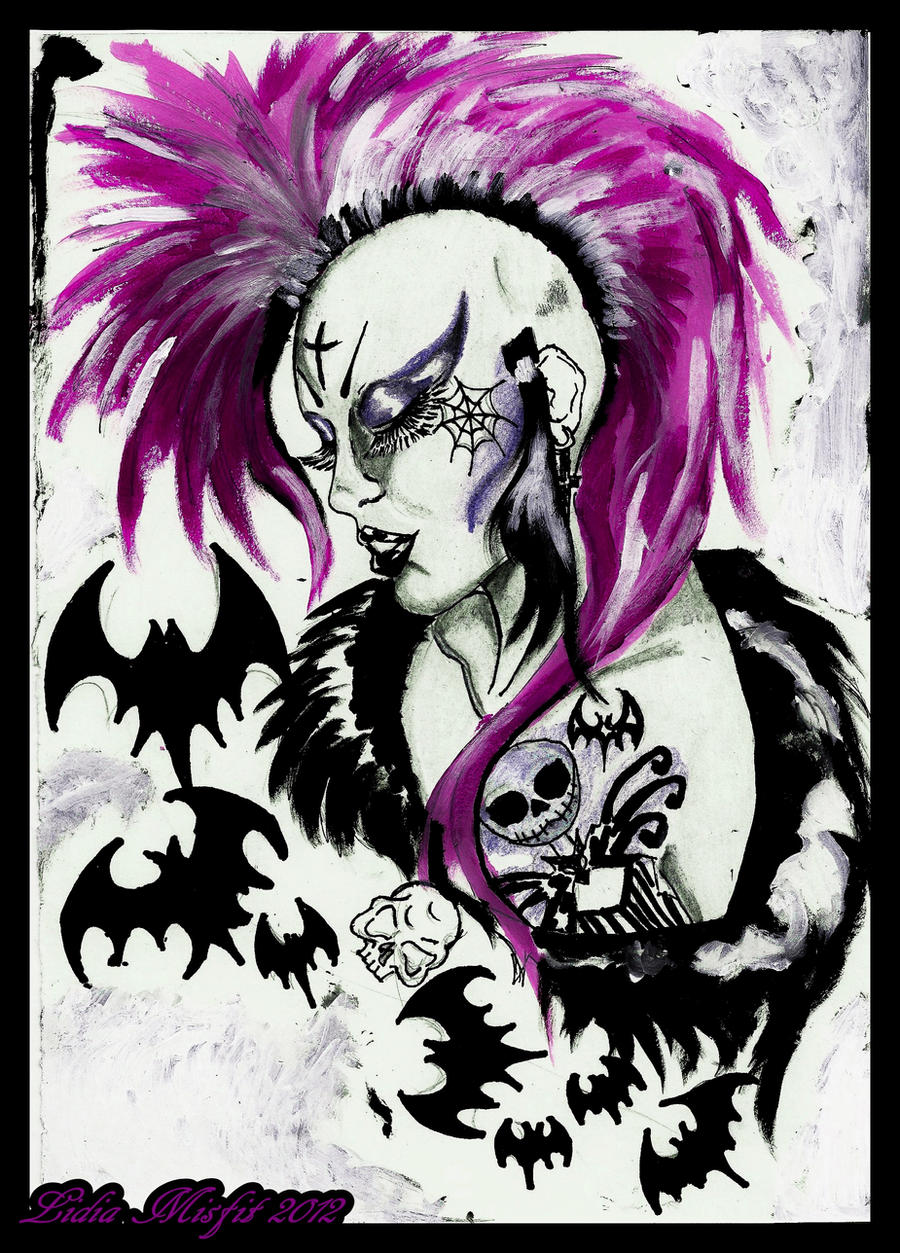 Deathrock Girl by MissMisfit13