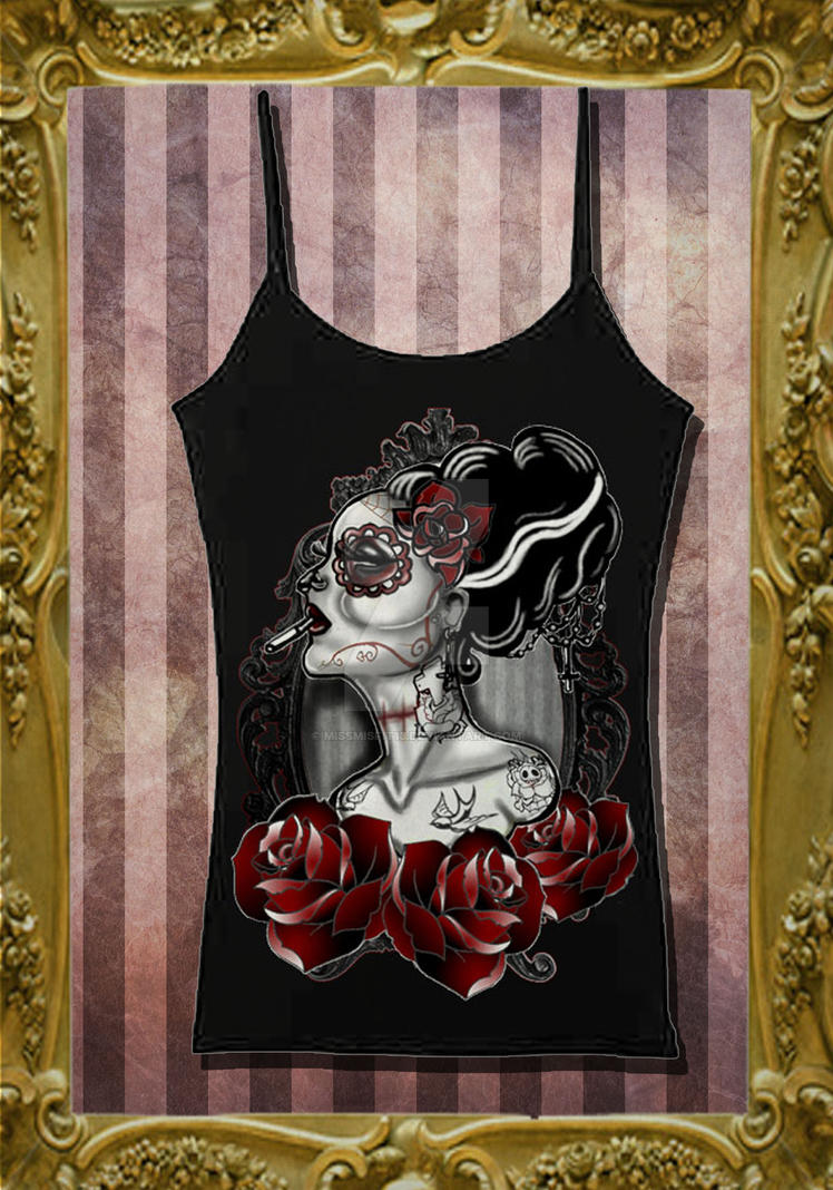 Monster Ink Vest by MissMisfit13
