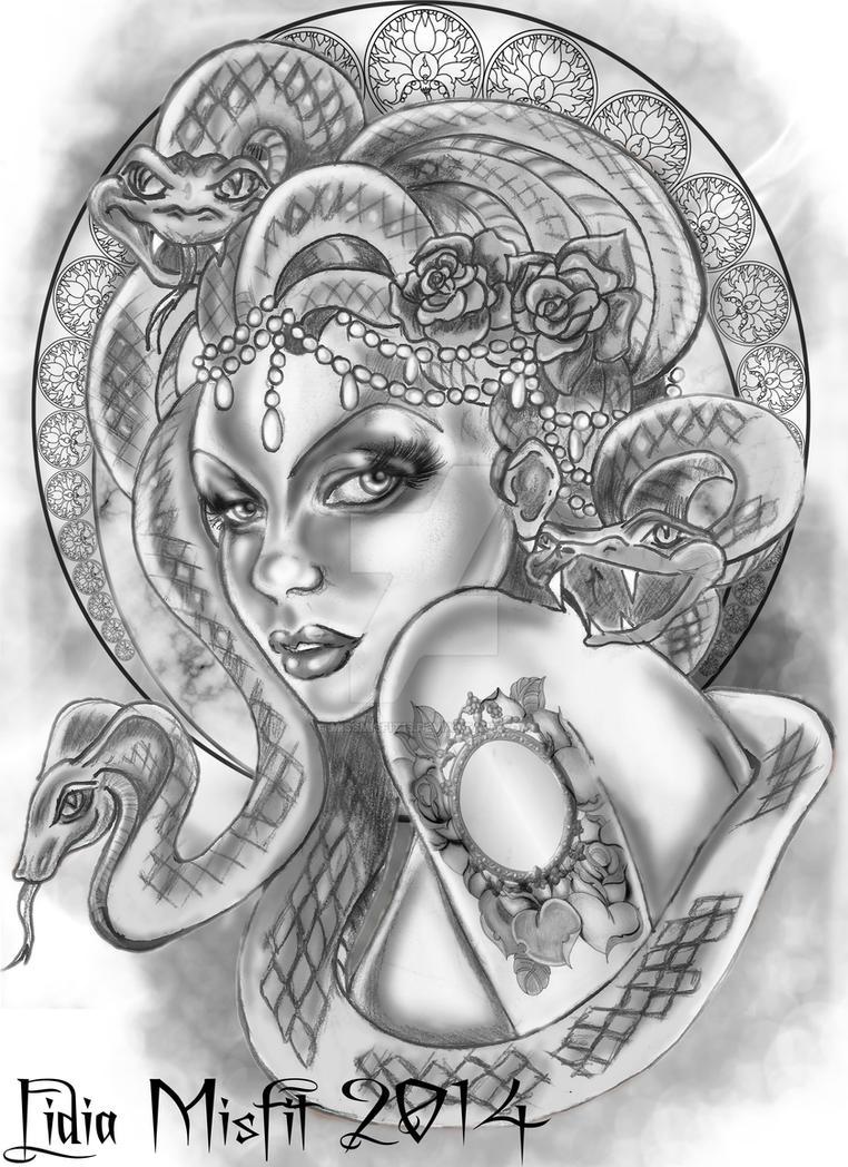 Medusa by MissMisfit13