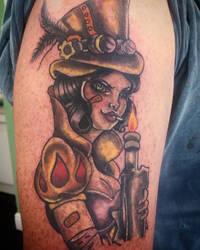 2a9c64ea1 MissMisfit13 8 0 Snow white mix Tank girl steam punk tattoo by MissMisfit13