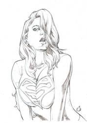 Sexy Supergirl by UZOMISTUDIO