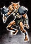 Chacal Thundercats by UZOMISTUDIO