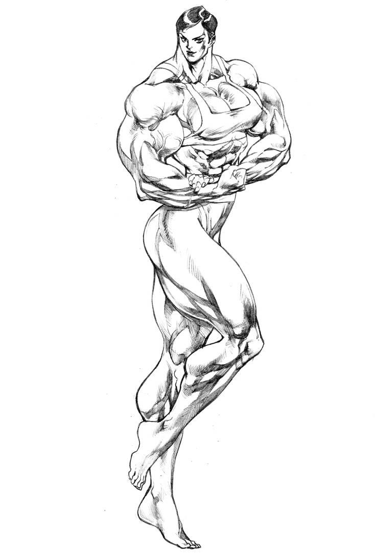 Olympia Strong by UZOMISTUDIO