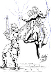 Ember and Bethany Xanthippe 02
