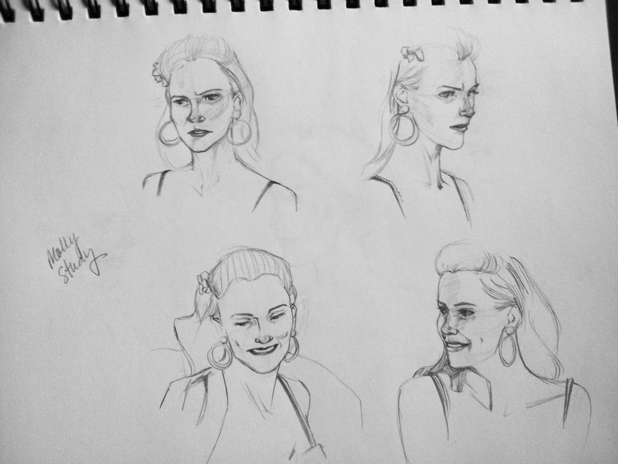 Mollys Sketchbook 2015 | Personal Blog Molly Hooper Christmas Dress