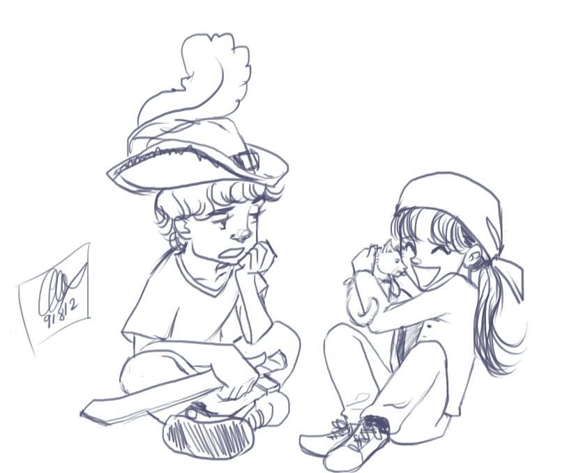 prompt - kid!Sherlolly by lexieken