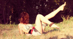 Chlling in the grass