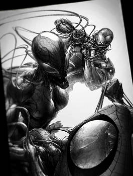 Marvel Showdown #Carnage#Spidey#Iron-Man