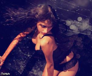 Black lingerie VI by Lady-Veronica