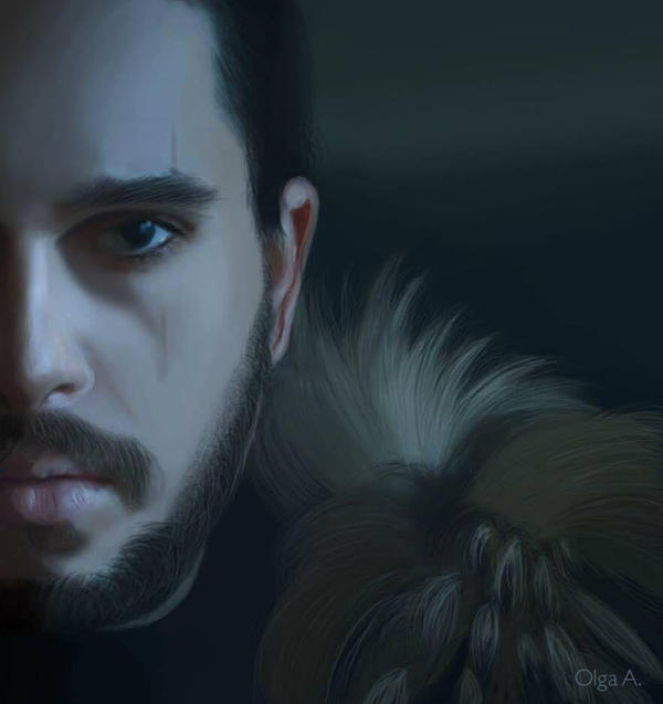 Jon Snow by AyameShinoda