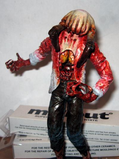 headcrab zombie custom figure by bloodysloth on deviantart. Black Bedroom Furniture Sets. Home Design Ideas